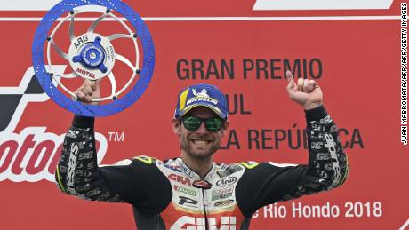 Brit Cal Crutchlow was victorious in Argentina but less than happy with the lack of media attention.
