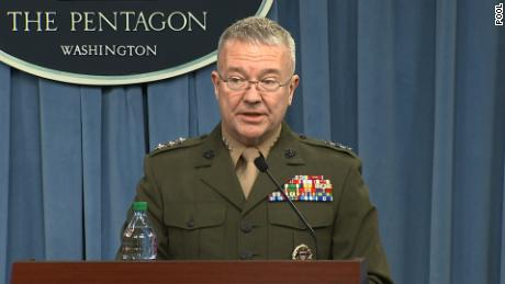 Pentagon gives Syrian strike details and calls out Russian disinformation trolls