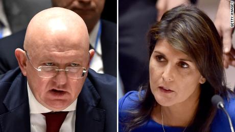 Haley says US 'locked and loaded,' prepared to maintain pressure on Syria