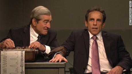 Ben Stiller, Trump Critic De Niro Reunite for 'SNL' Mueller 'Interrogation'