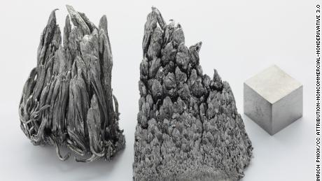 Yttrium, a rare earth element, is used in the production of LEDs and superconductors.