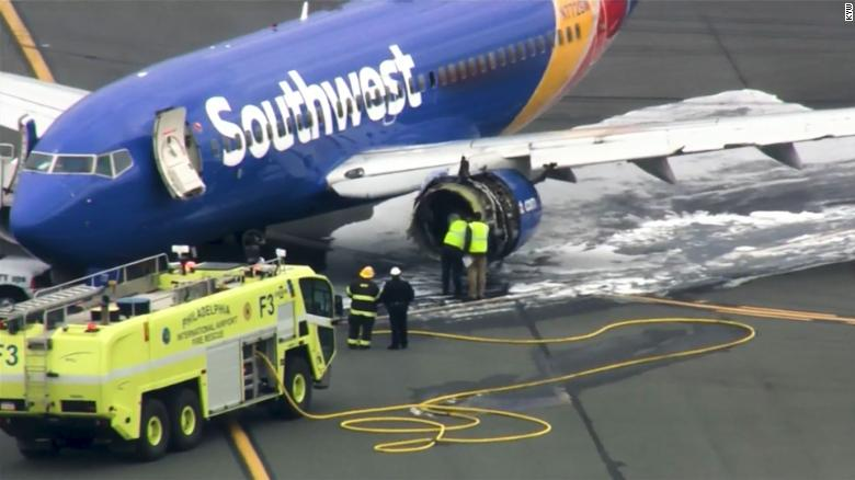 Passengers say pilot of ill-fated Southwest Airlines flight is a hero
