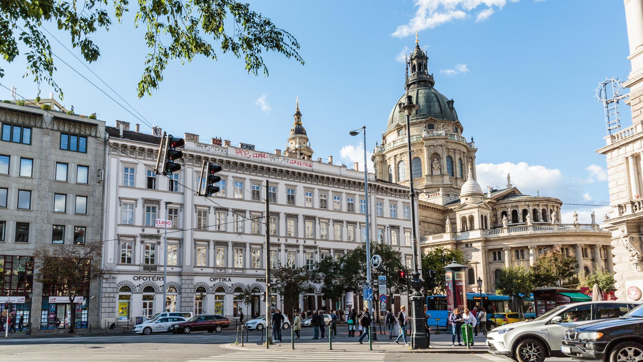 shopping i budapest