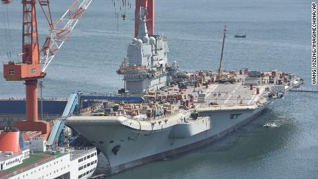 China y # 39; s primero portaaviones de cosecha propia se dirige a la prueba marítima