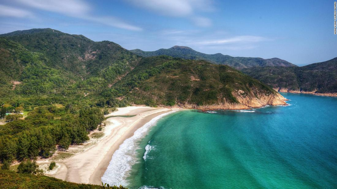 Hong Kong's secret beaches