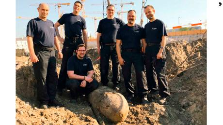 World War II bomb find sparks evacuation in Berlin