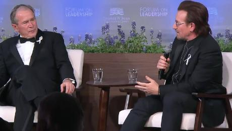 Bush Medal: Bono Gets 1st Award for Distinguished Leadership