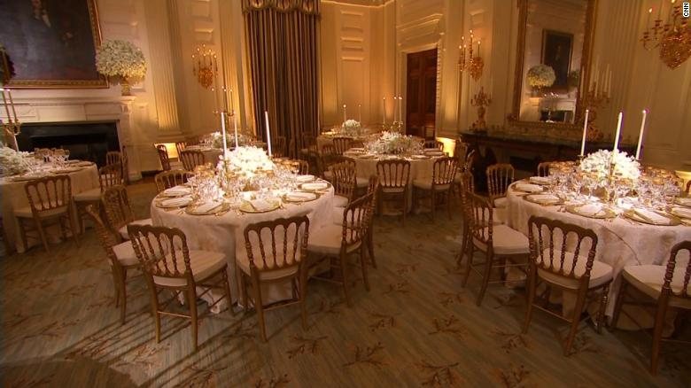 123 guests attend White House state dinner