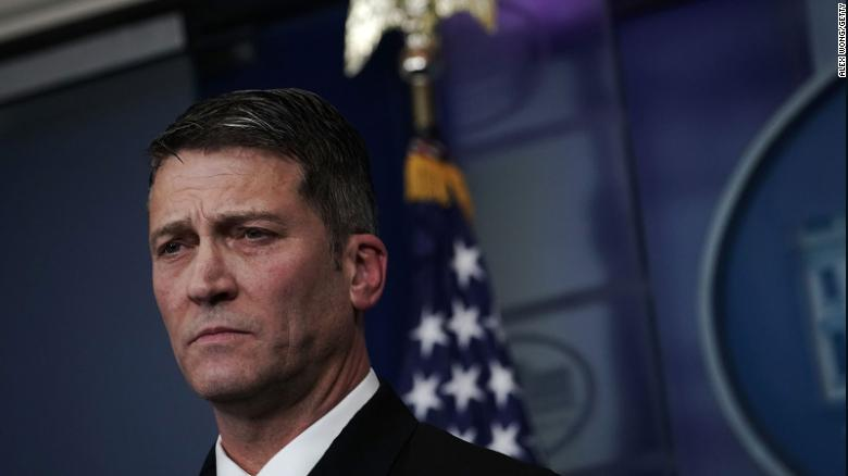 White House Prepares For Possible Ronny Jackson Withdrawal