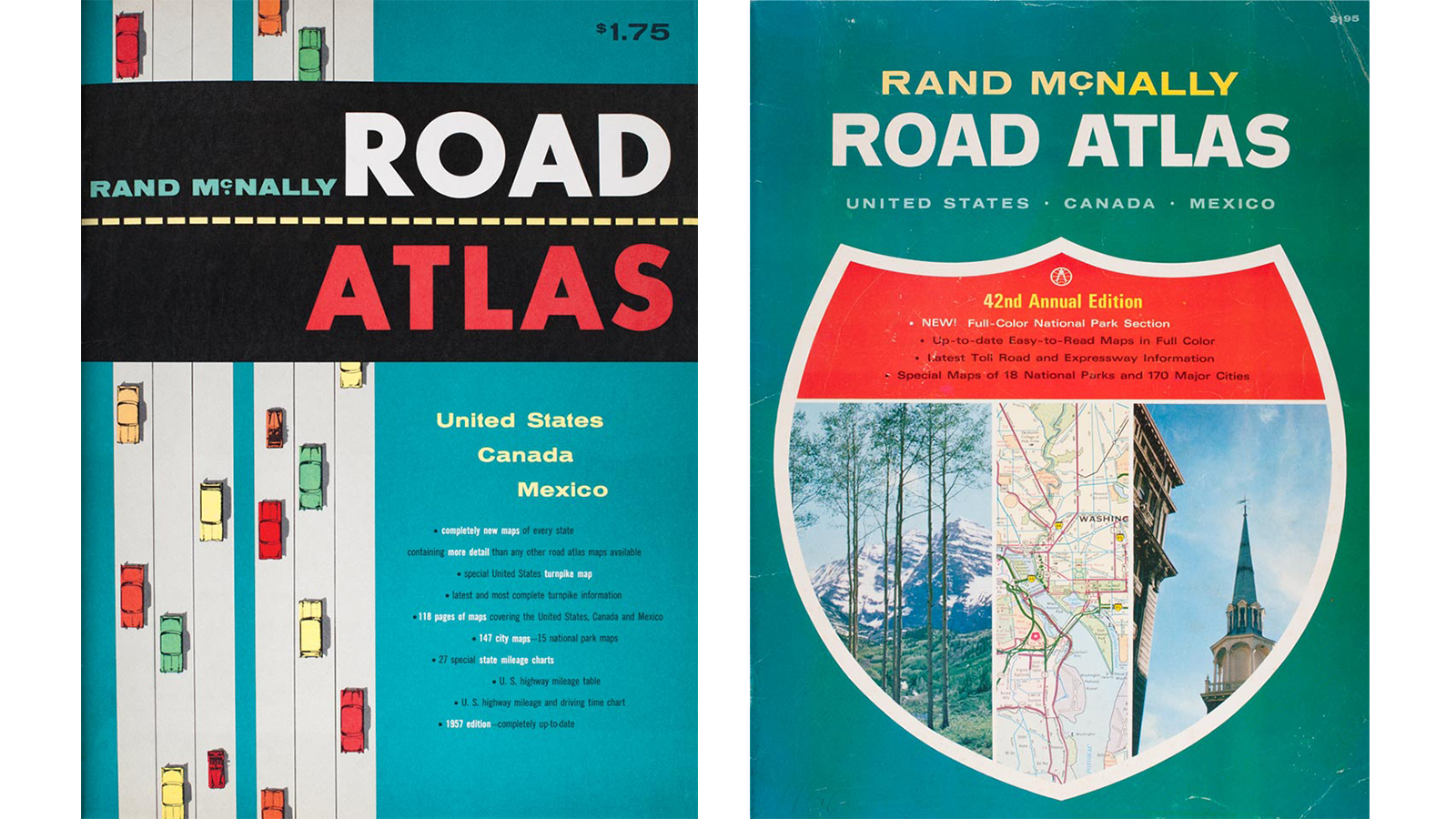 Rand McNally vintage atlases map the great American road ... on illinois county map, illinois dot construction map, illinois interstate highway map, illinois airports map, illinois tollway map 294, illinois tolls rates map, illinois road atlas, illinois us 66 maps,