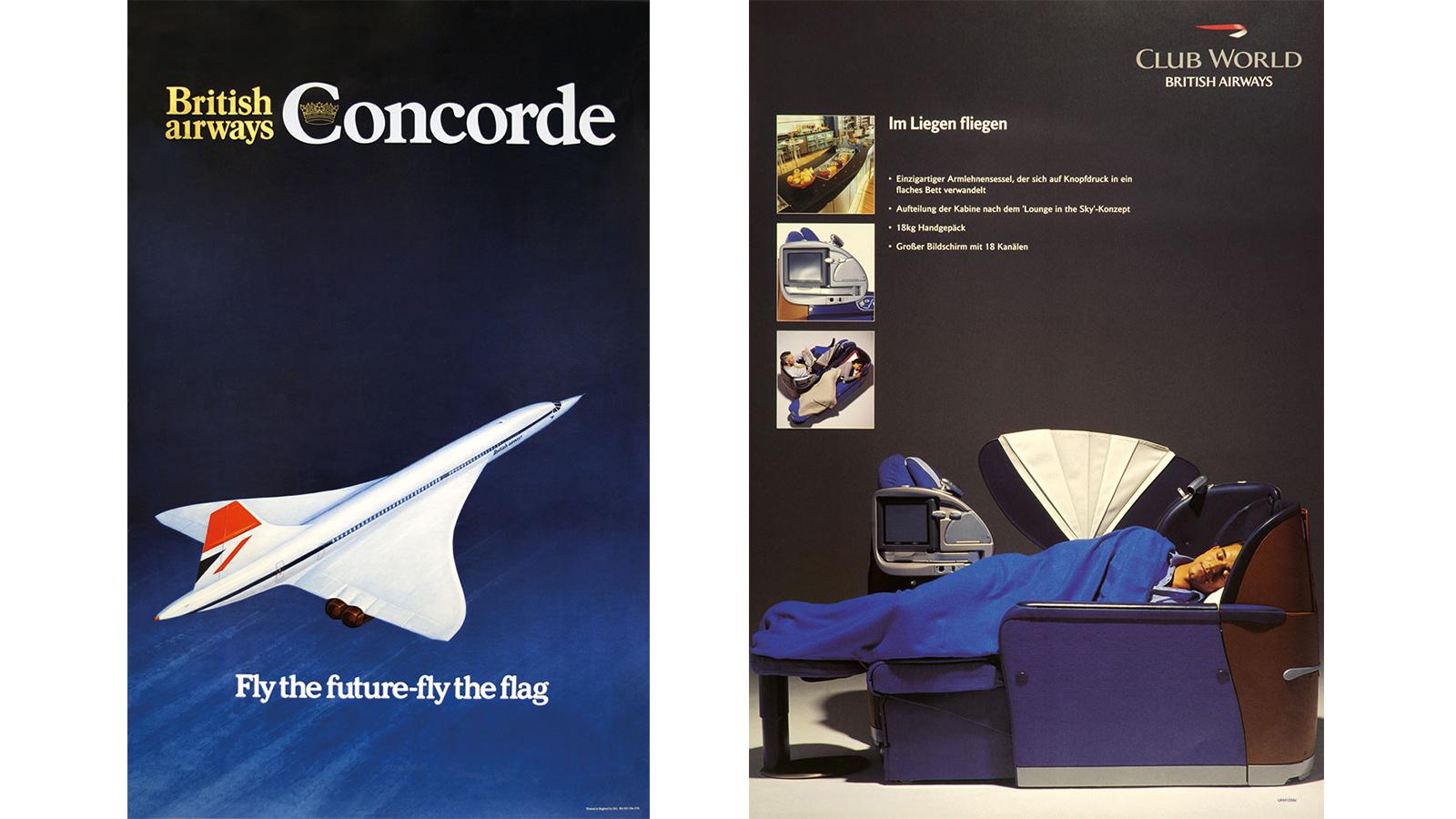 British Airways CONCORDE Information Booklet