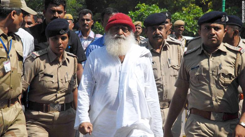 Self-styled godman Asaram Bapu sentenced to life in rape case involving minor