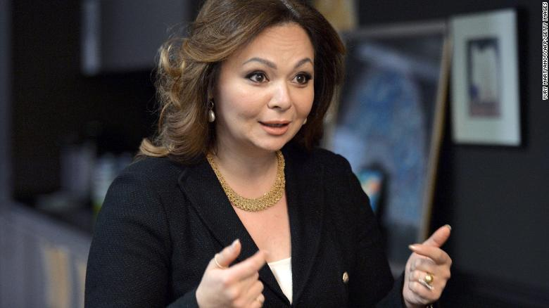 8 2016 shows Russian lawyer Natalia Veselnitskaya speaking during an interview in Moscow. The bombshell revelation that President Donald Trump's oldest son Don Jr. met with a Kremlin-tied Russian lawyer hawking damaging