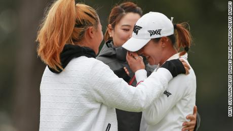 Lydia Ko was full of emotion after scoring her first win in more than two years.