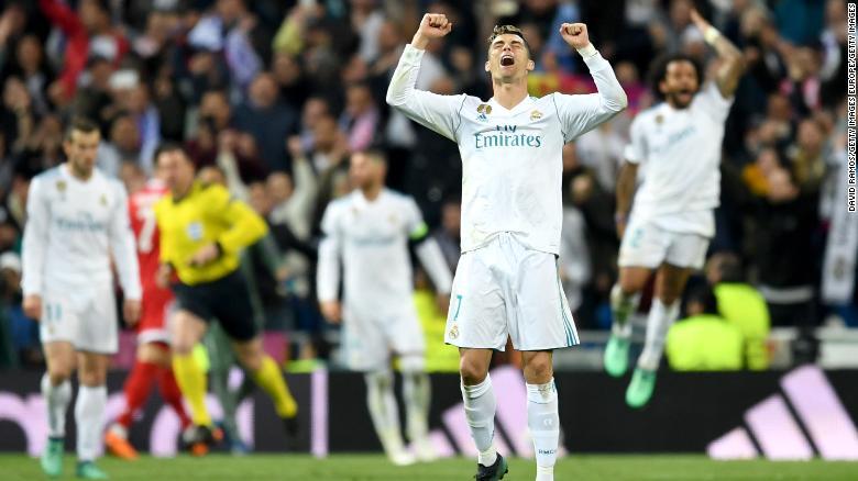 Cristiano Ronaldo becomes top goal-scorer in soccer history