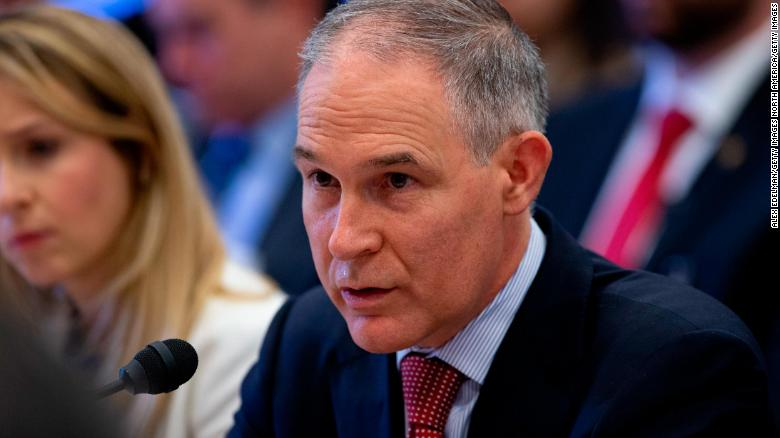 EPA watchdog says Pruitt sought 24/7 protection from start