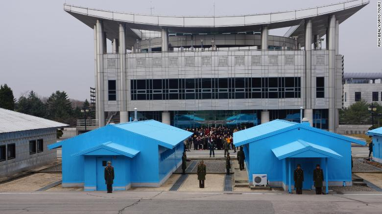 Koreas, UN finish removing firearms from border village