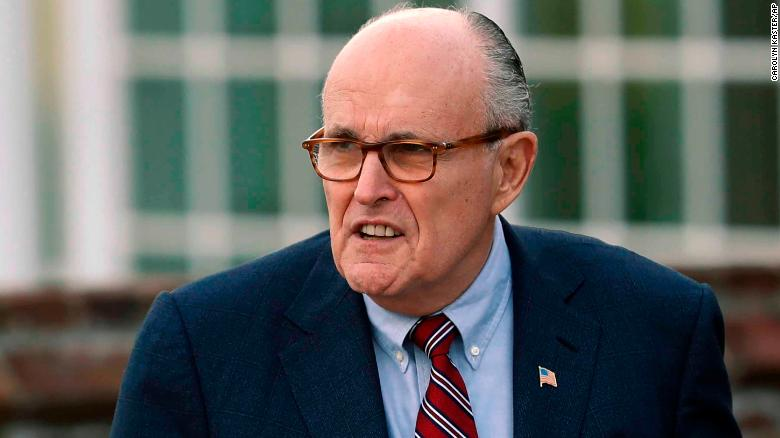 On AT&T-Time Warner merger, Giuliani again contradicts White Hou
