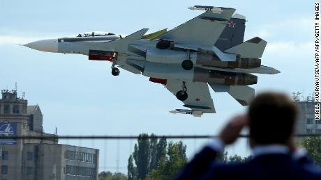 Russian fighter jet crashes over Mediterranean Sea