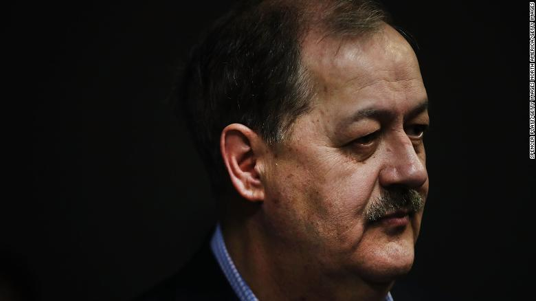 Manchin Struggles to Answer Questions About Blankenship's Disparaging Comments