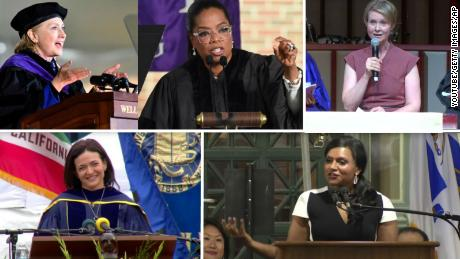 In a tumultuous and triumphant year, women are dominating as college commencement speakers