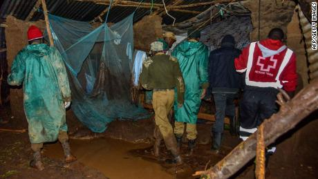 At least 44 killed as dam bursts in Kenya