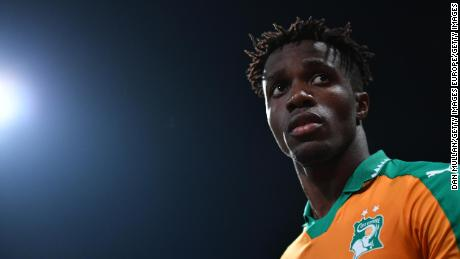 Mercurial forward Wilfried Zaha has switched nations to a team that won't be at this summer's World Cup.
