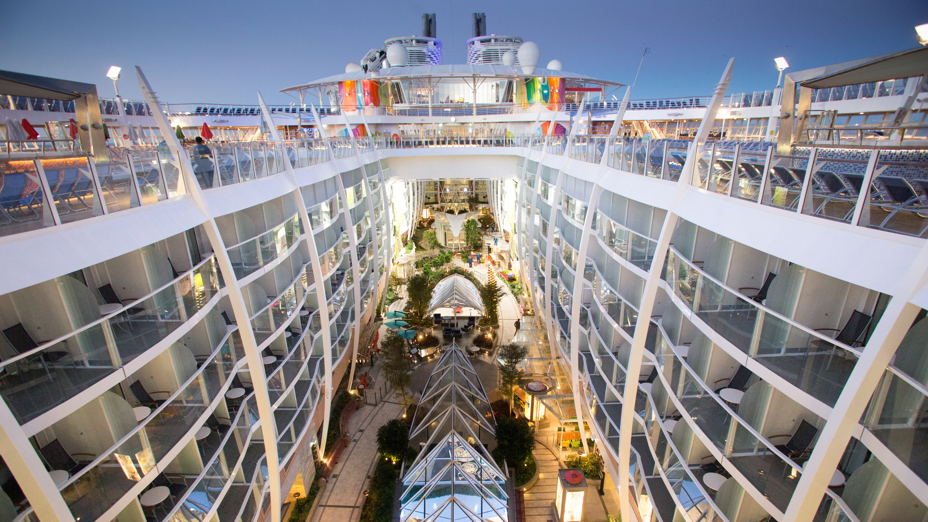 15 biggest cruise ships in the world | CNN Travel