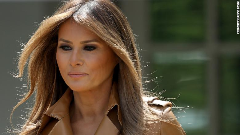 President Trump Flies Again to Recovering Wife Melania's Side