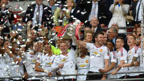 Manchester United last won the FA Cup in 2014