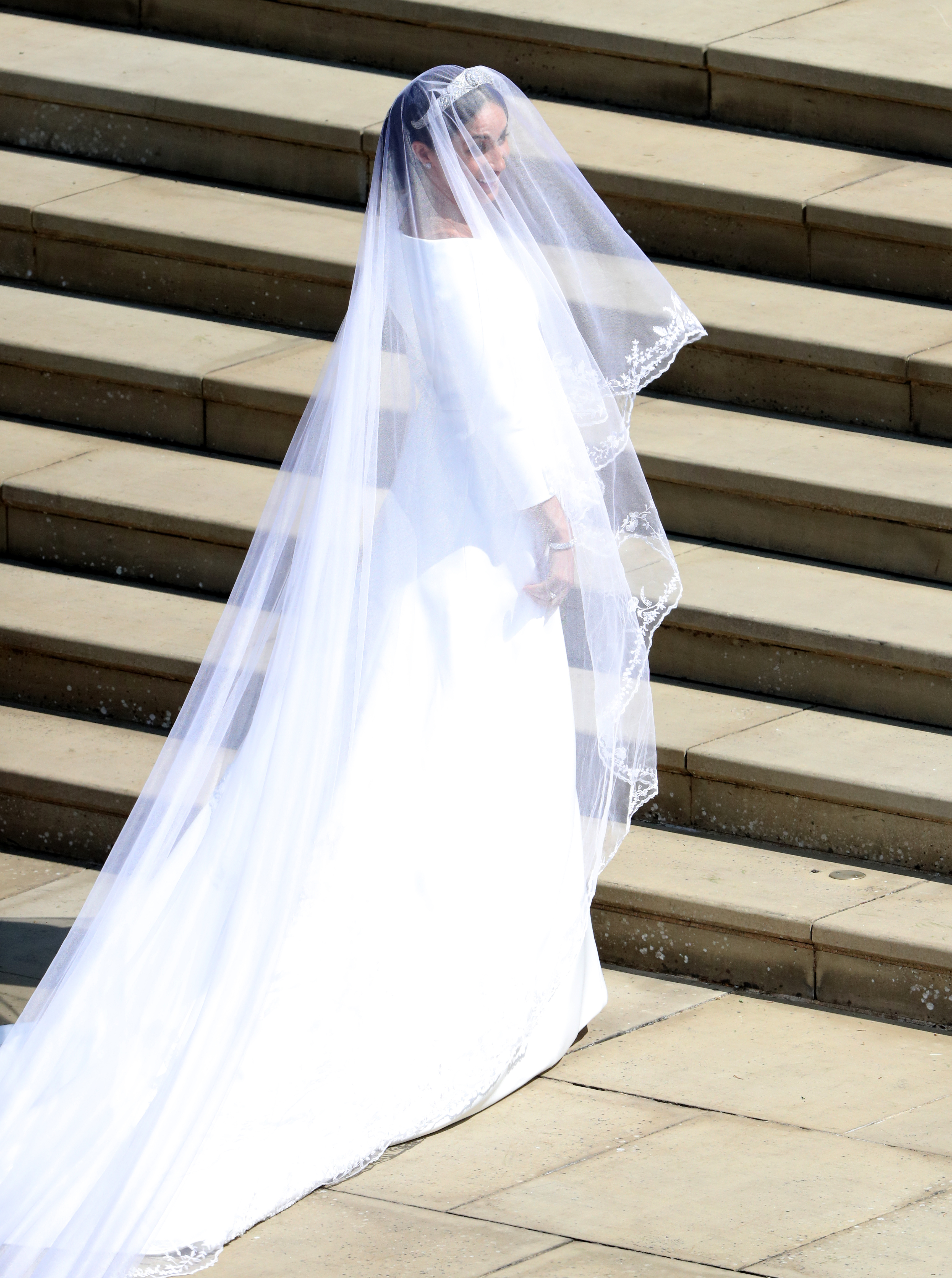 Meghan Markle S Wedding Dress Is By Givenchy S Clare Waight