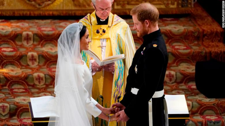 Oprah Winfrey Leads Celebrities At Britain's Royal Wedding