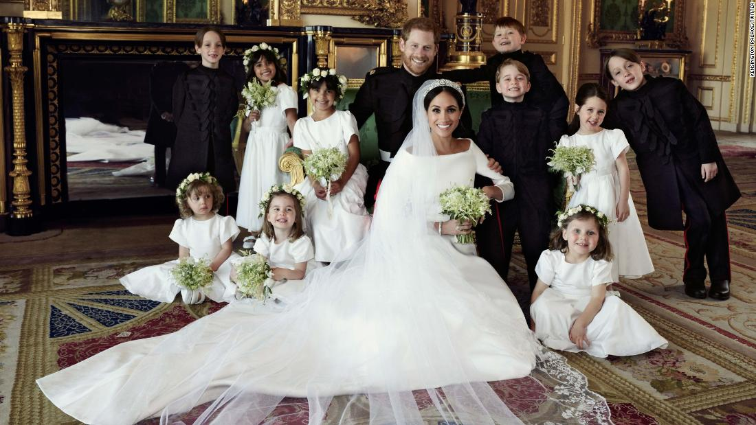 Royal wedding: Official photographs revealed