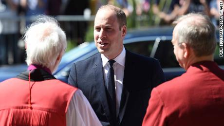 Britain's Prince William heads for historic Middle East tour