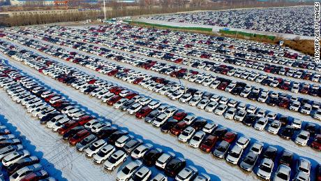 China is temporarily slashing tariffs on US auto imports