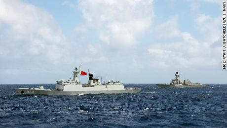 China rejects 'ridiculous' US accusation of S.China Sea militarisation