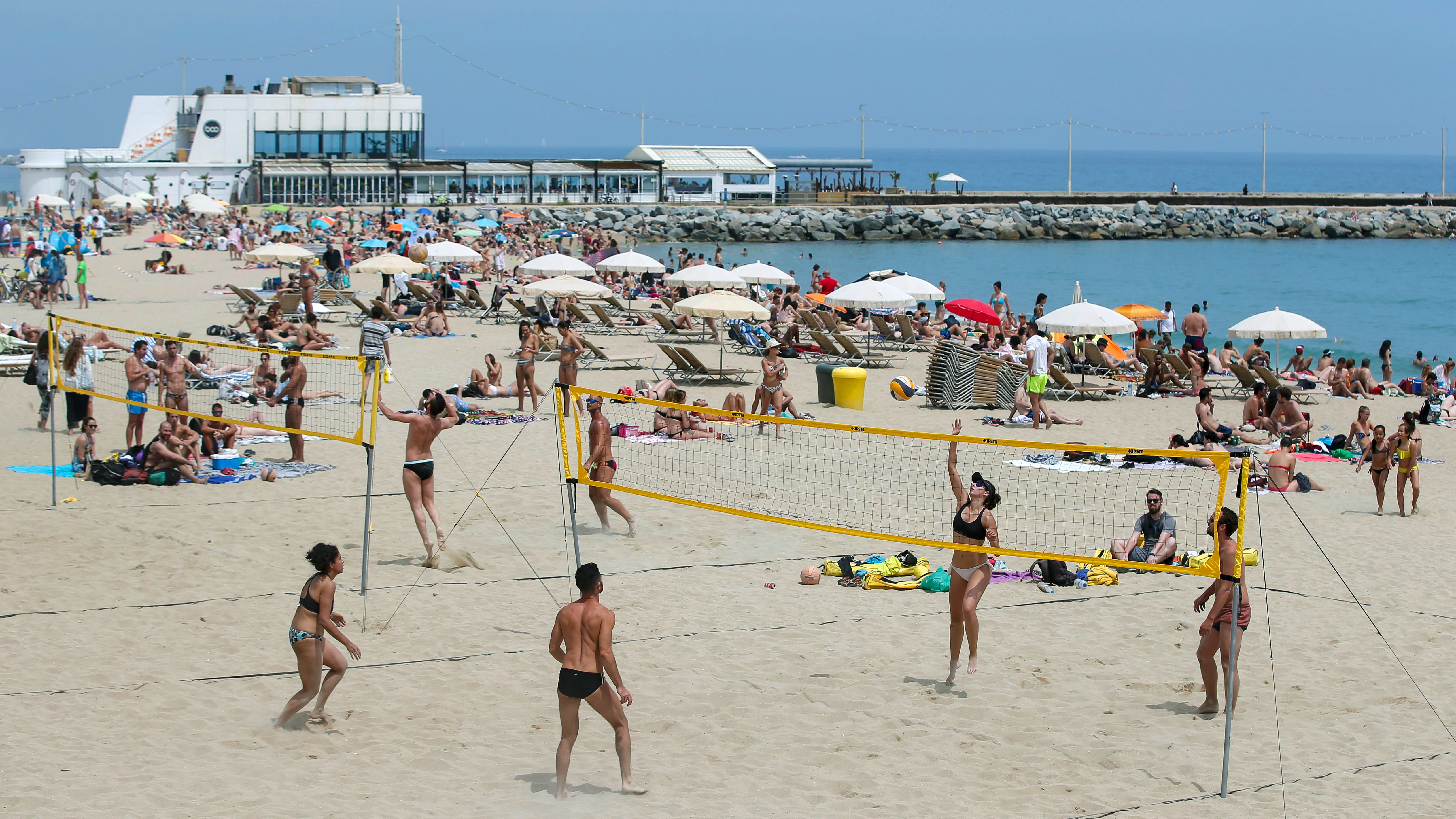 barcelona beaches your guide to picking the best stretch of sand cnn travel 2