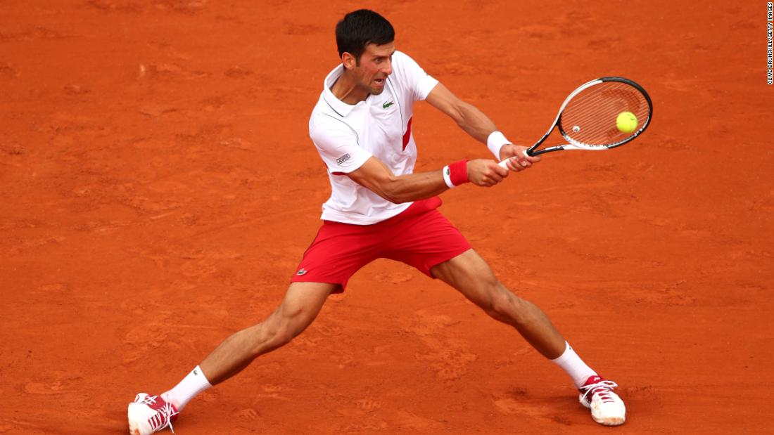 Novak Djokovic's recent results suggest the 12-time grand slam champion could be turning the corner in his recent struggles. A win on day two was a decent start for the 2016 champion, who has slipped to 22 in the world.