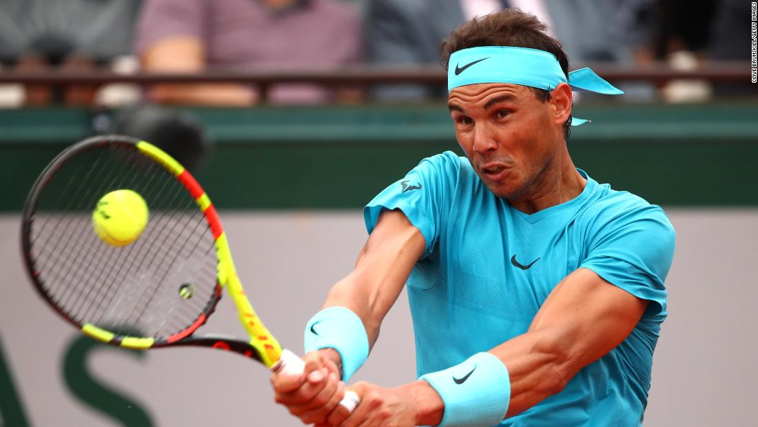 """Spain's Nadal is known as the """"King of Clay"""" and is the red-hot favorite in Paris."""