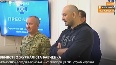 'Murdered' Russian journalist Arkady Babchenko turns up alive
