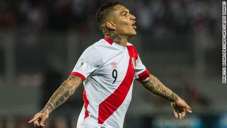 Peru captain Paolo Guerrero cleared for World Cup