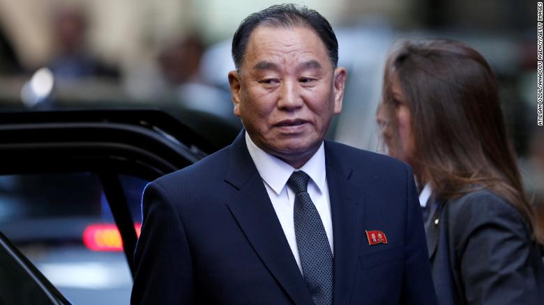 Trump to meet N.Korean envoy Kim Yong Chol - White House