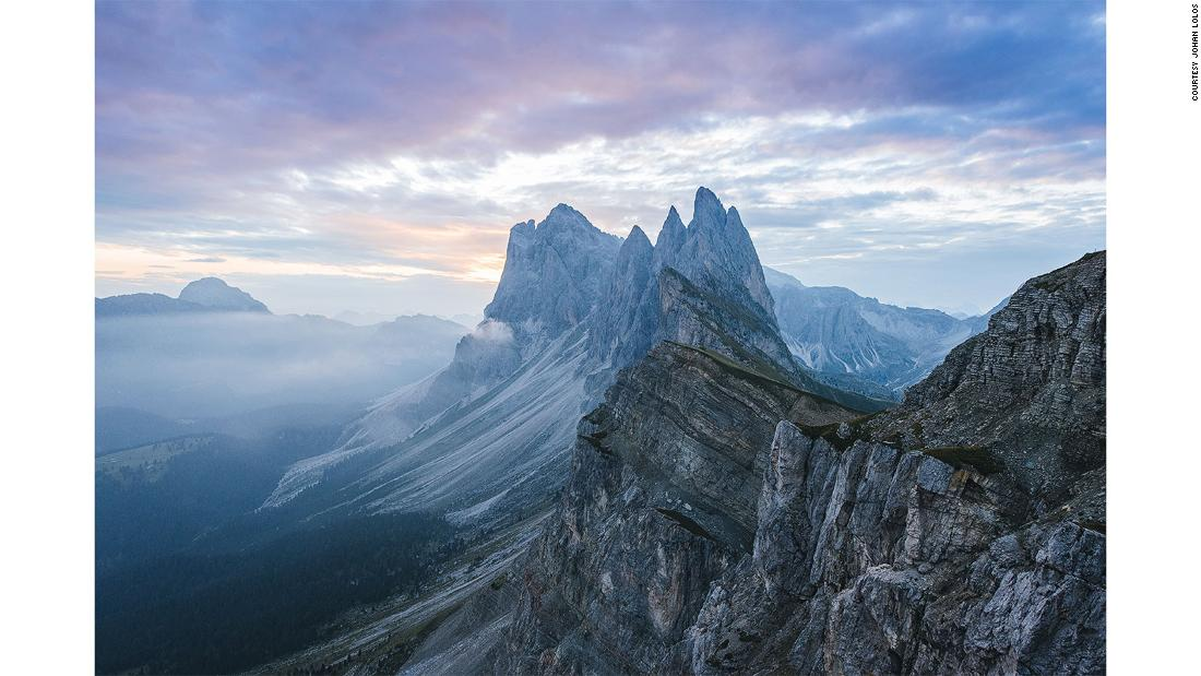 Photographer captures Europe's most incredible mountains