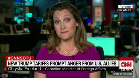 Trudeau rejects immediate retaliation on United States  tariffs