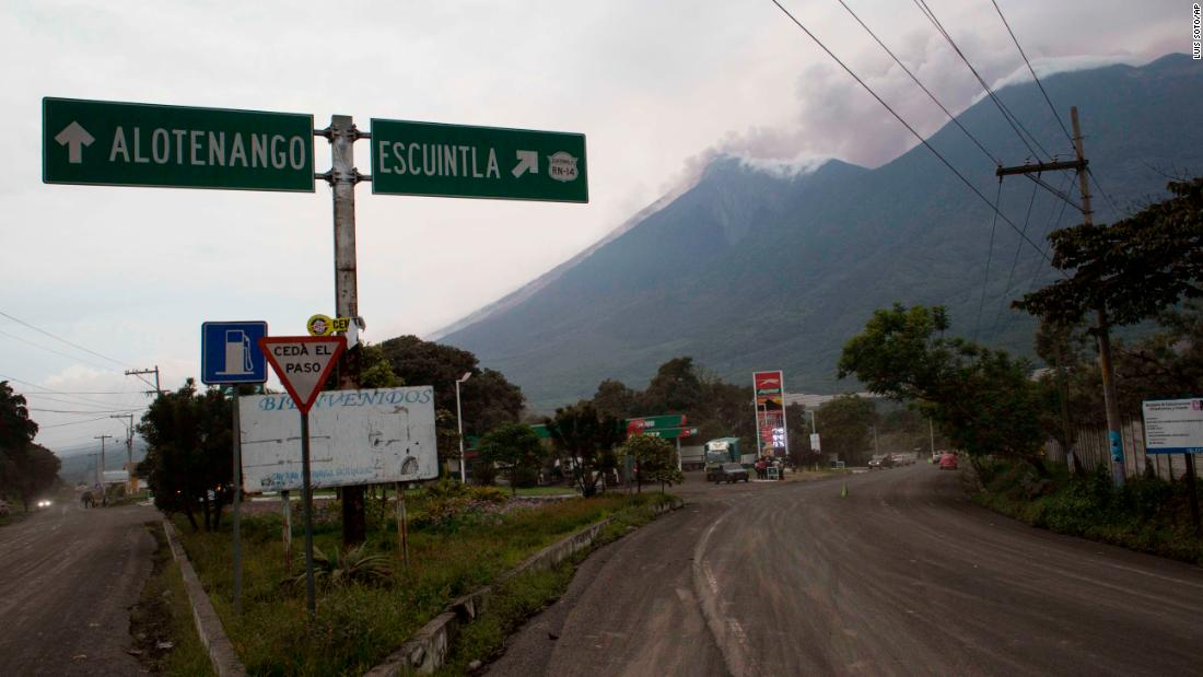 Guatemala volcano death toll up to 33, expected to rise