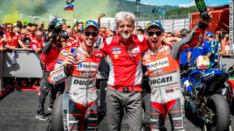 With Andrea Dovizioso finishing second, Ducati secured an impressive one-two at Mugello.