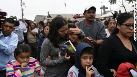 Rescuers tirelessly search for 200 missing near Guatemala volcano