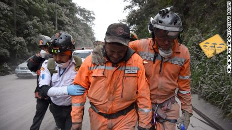 Mass evacuation begins as volcano erupts in Guatemala