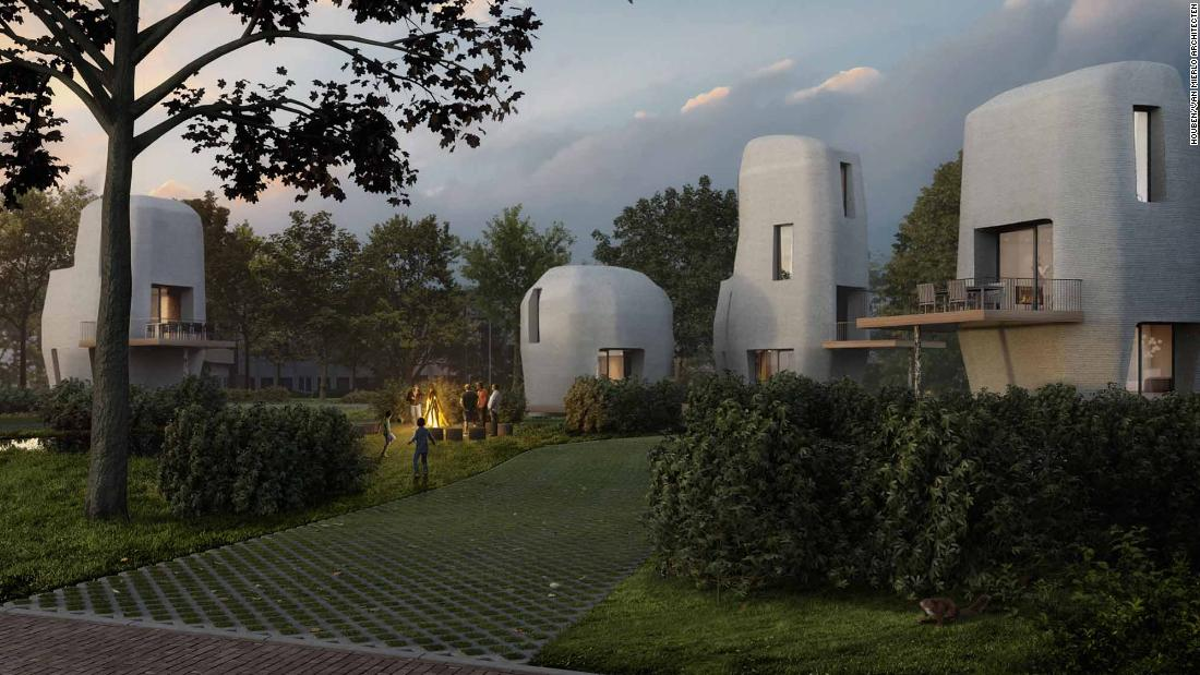 Netherlands To Host Small Community Of 3d Printed Houses