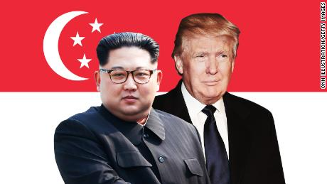Trump optimistic on North Korea summit despite differences on ending nuclear standoff